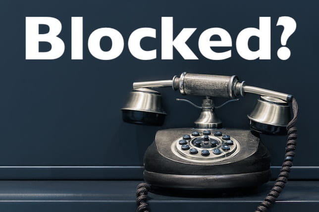 Has your ex blocked you?